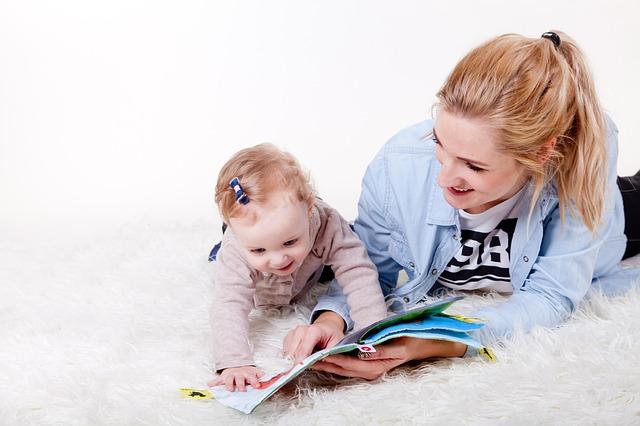 čtení s dceruškou