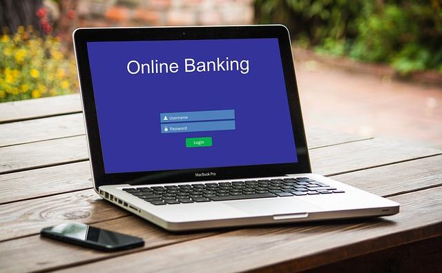 online bankovnictví
