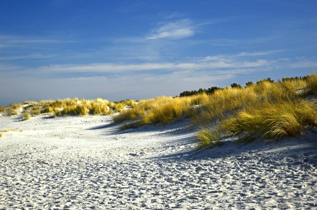 duny u moře